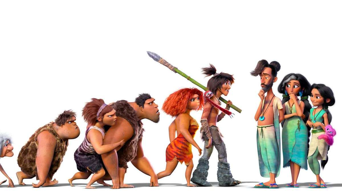 The Croods: A New Age kicks off an evolutionary family feud in first trailer for prehistoric sequel