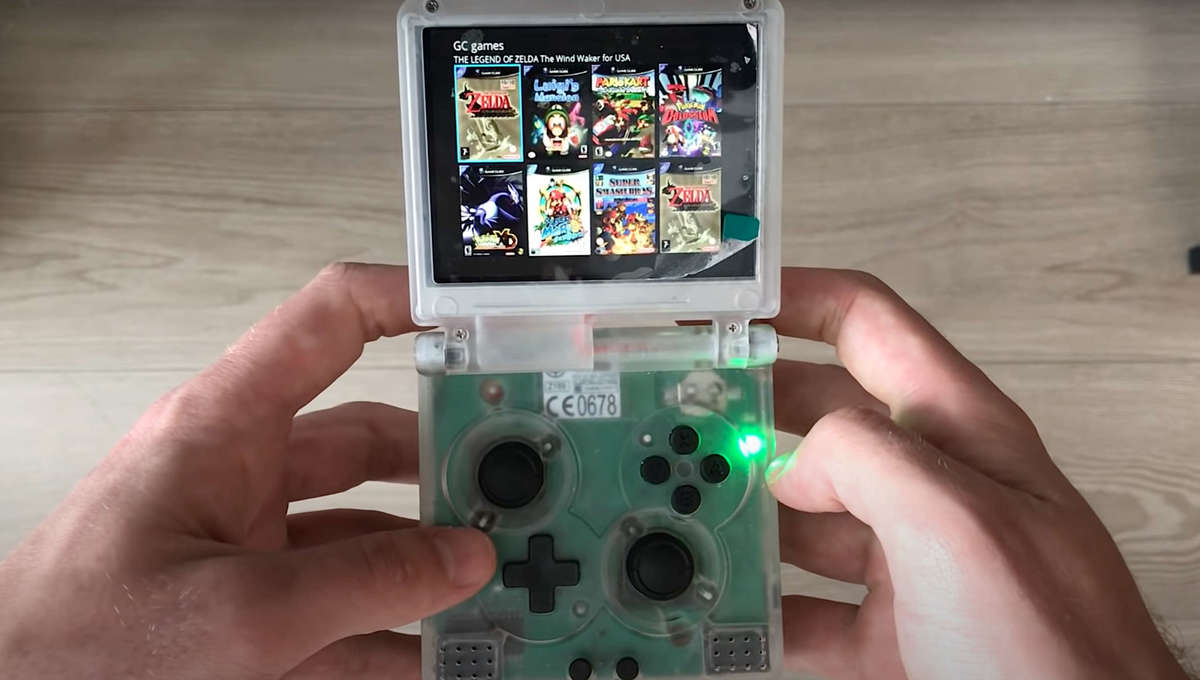 Tech-savvy Nintendo fan crams a fully functioning Wii into tiny old-school Game Boy - SYFY WIRE
