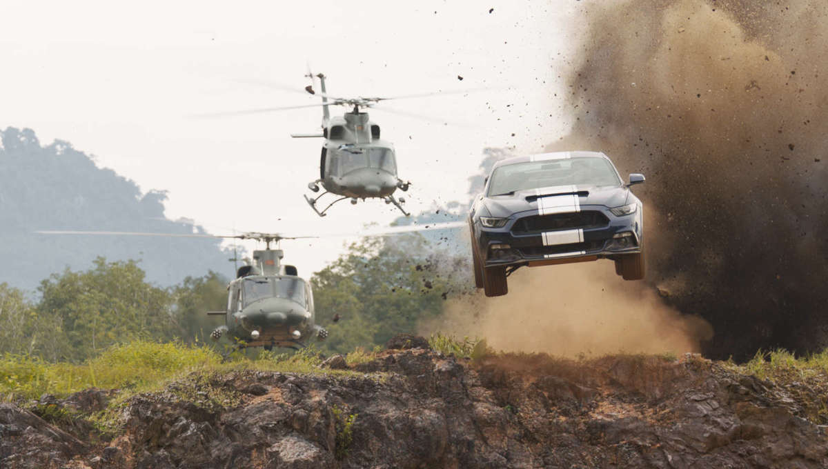 F9' drives into a literal minefield with latest 'Fast & Furious' clip