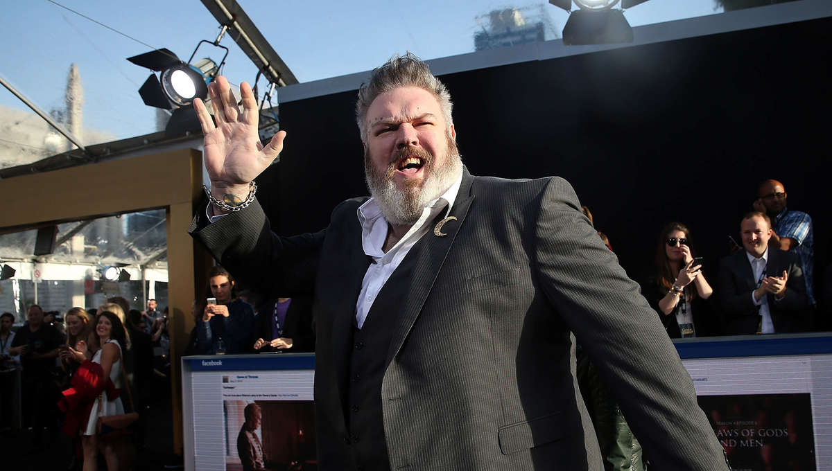 Hodor actor Kristian Nairn in Taika Waititi pirate comedy, Our Flag Means  Death
