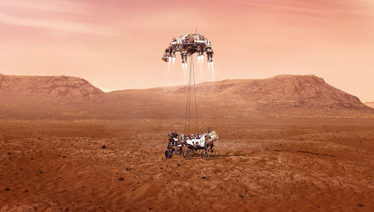 NASA's Mars rover shares new 2.4 billion-pixel, 360-degree panoramic image from Jezero - SYFY WIRE