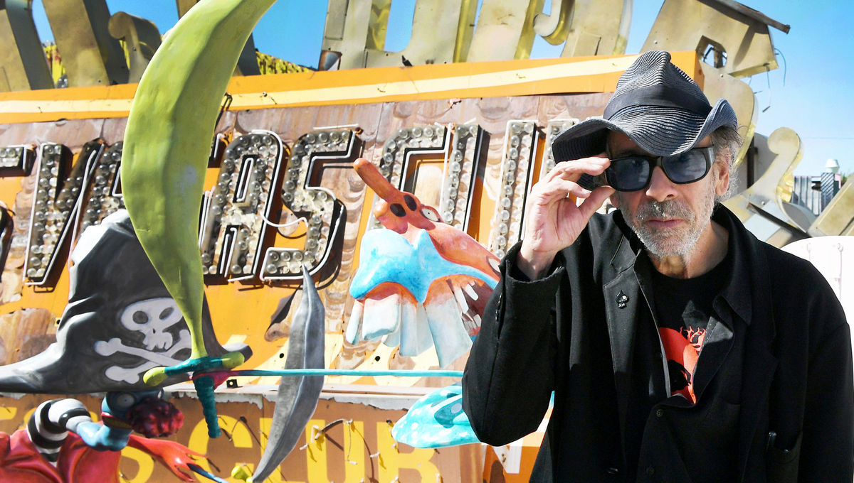 Geek Road Trip: Tim Burton takes us on a tour of his Las Vegas