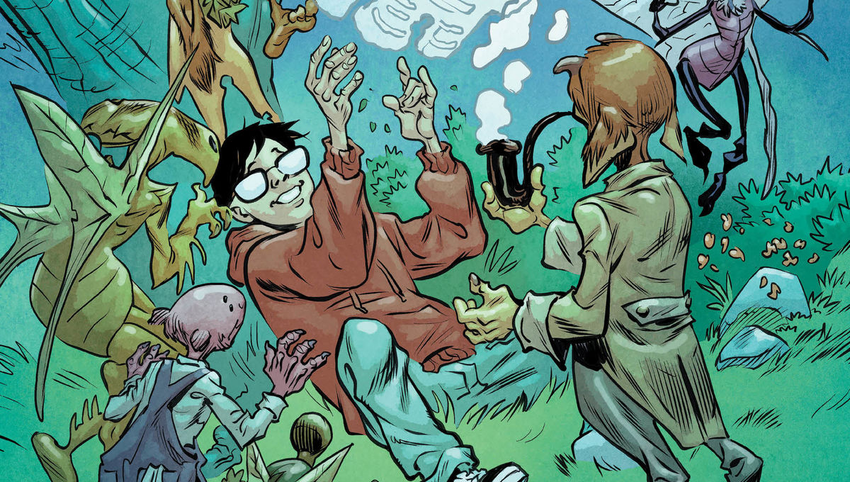 First look: Books of Magic #8 conjuring new faerie-centric DC Comics storyline