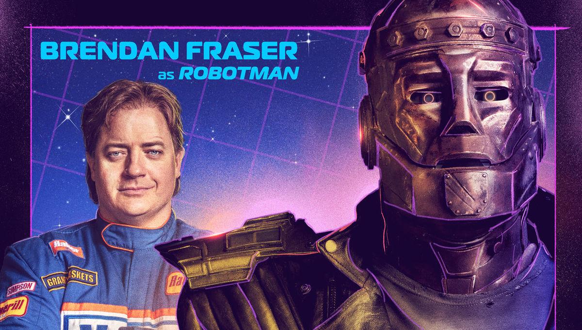 Doom Patrol Reveals Brendan Fraser S Robotman Diane Guerrero S