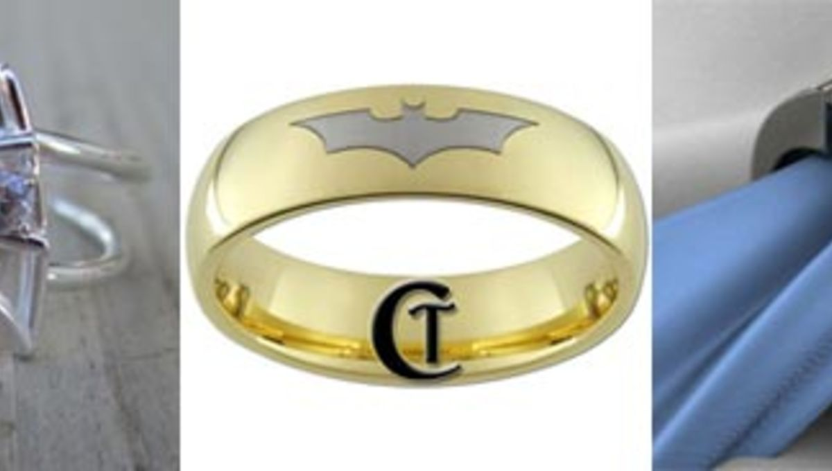 It is a picture of Celebrate geek love with these 46 awesome sci-fi wedding rings