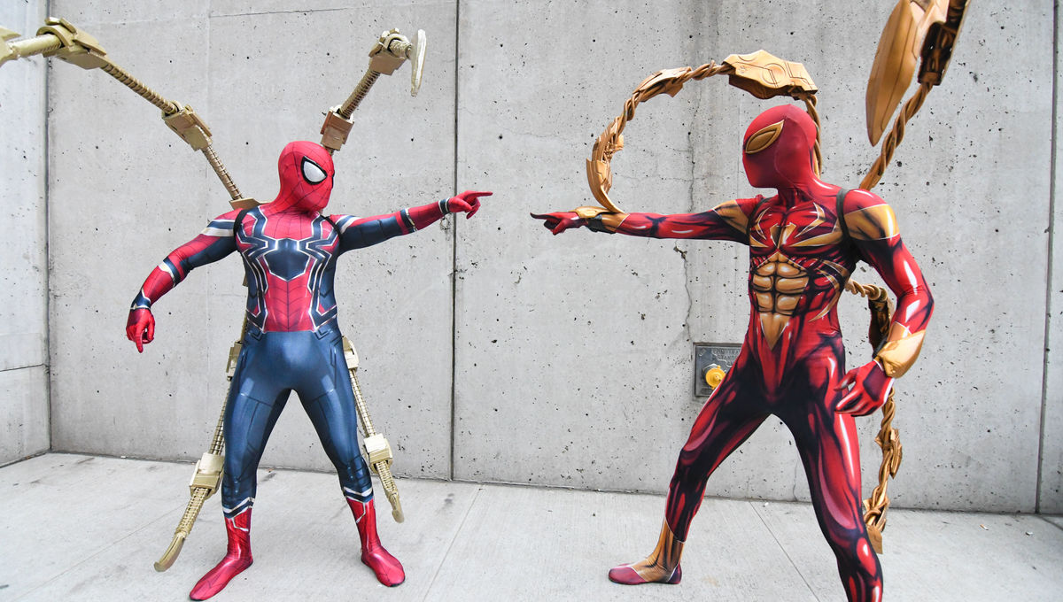 Spider Man Again Leads Cosplay At Nycc Day 3 Syfy Wire