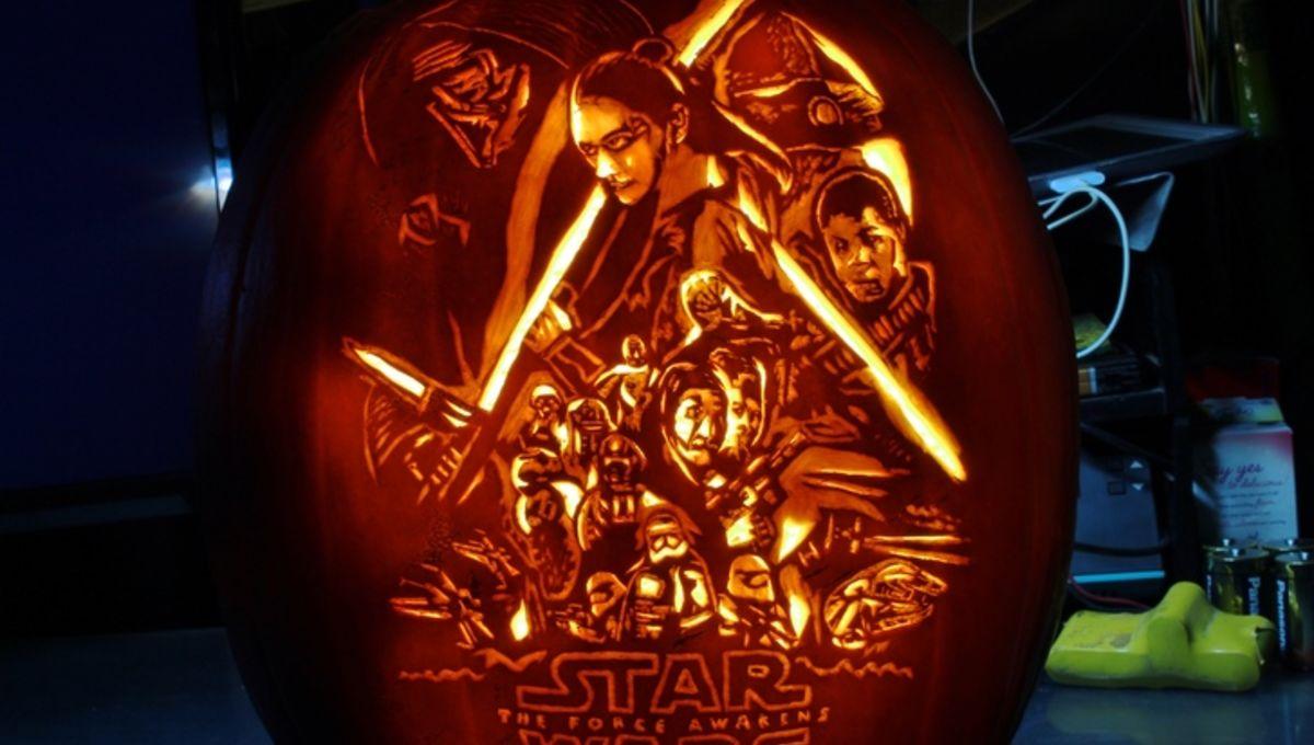 12 new Star Wars Halloween pumpkin ideas from a galaxy far