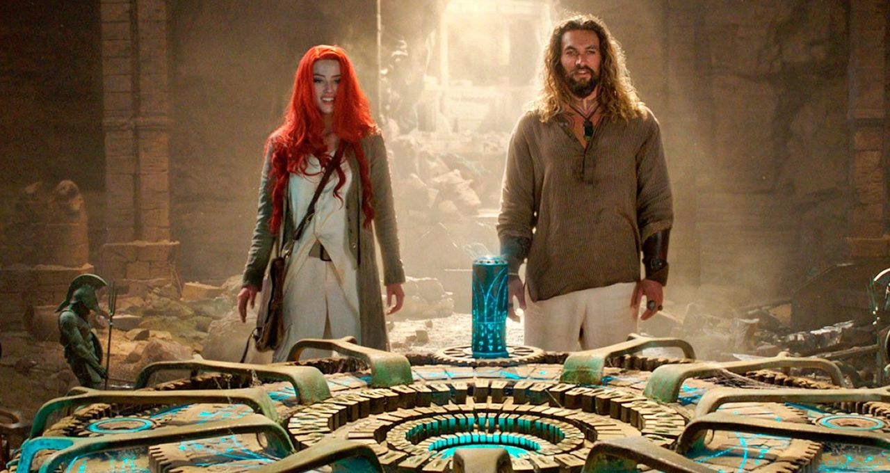 Chosen One of the Day: Aquaman and Mera in casual resort-wear