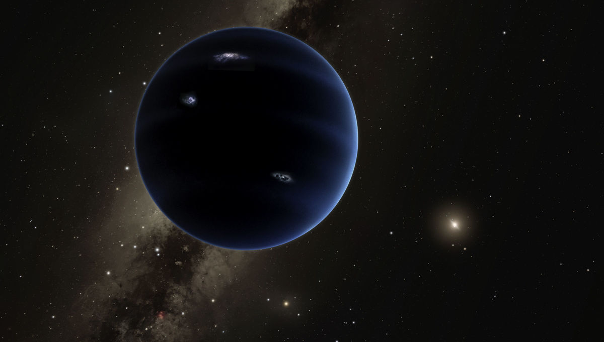 Artwork of a possible planet far, far away. Credit: Caltech/R. Hurt (IPAC)