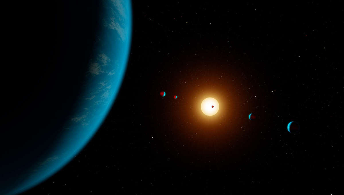 How many habitable planets can one star have? Turns out, about 6.