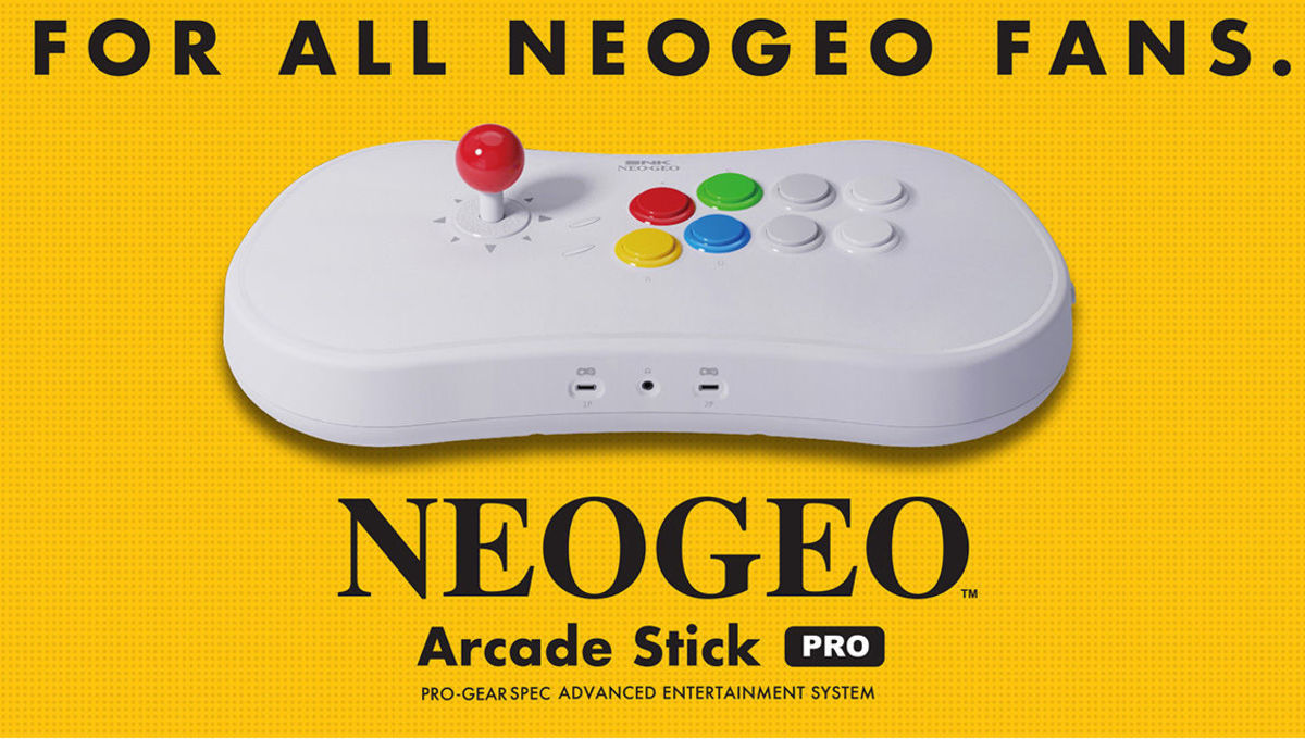 SNK announces Neo Geo Arcade Stick Pro with 20 pre-installed fighter games