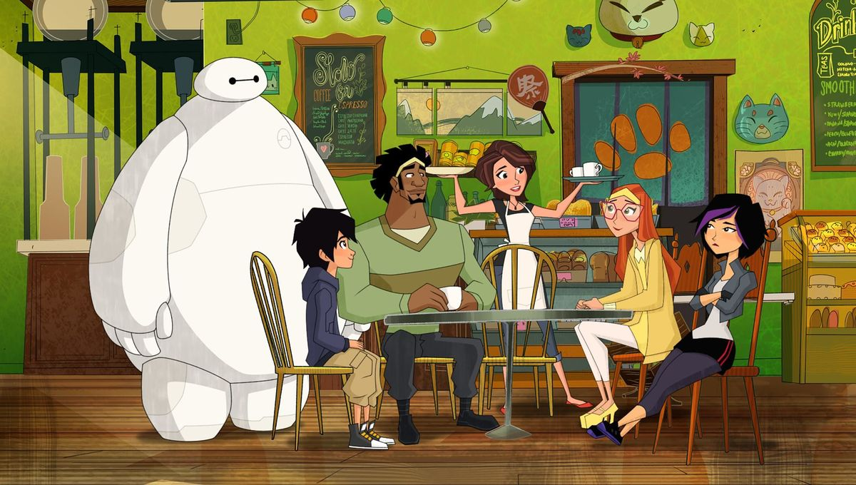 Big Hero 6: The Series Comic-Con Panel Unleashes Mini-Max
