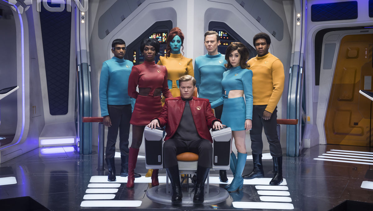 Emmy Contender: Inside the making of Black Mirror's hit episode 'USS Callister'