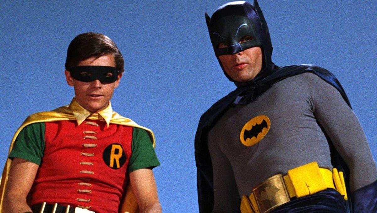 Burt Ward and Adam West, Batman