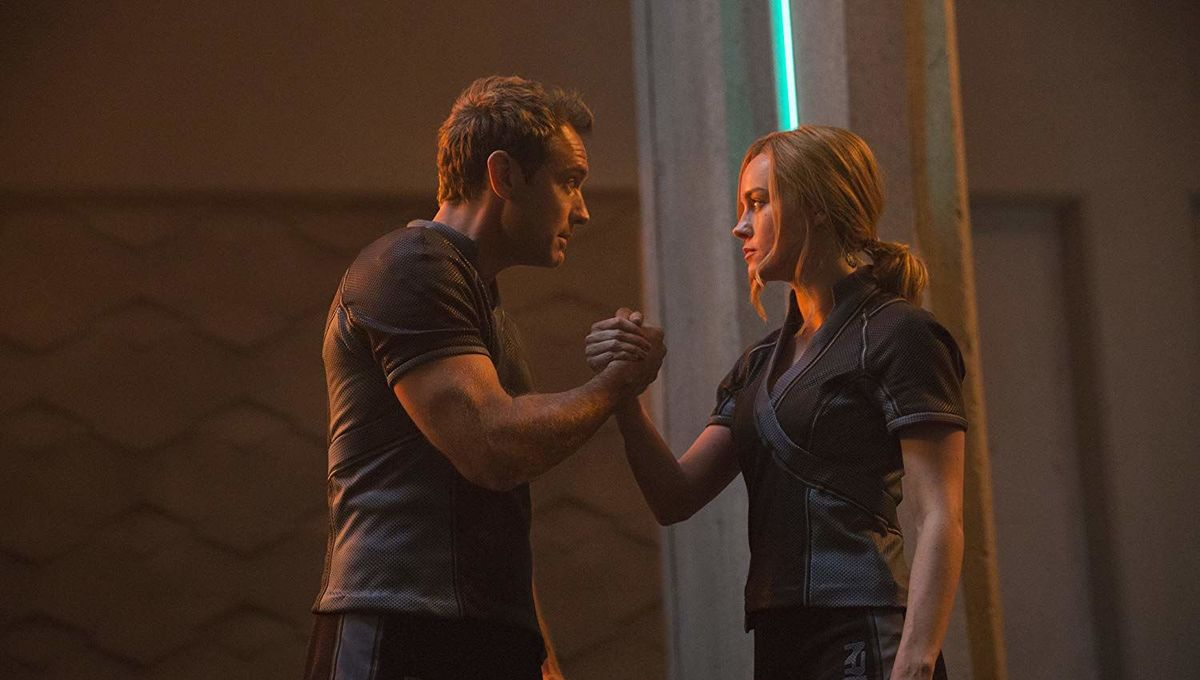 Captain Marvel Jude Law Brie Larson