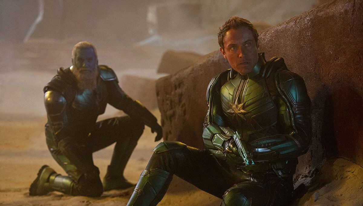 Captain Marvel Rune Temte Jude Law