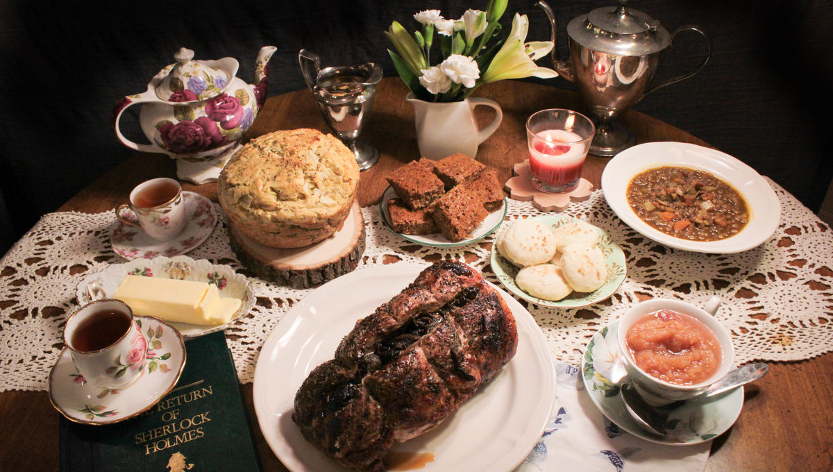 Cooking Sherlock Holmes' favorite foods
