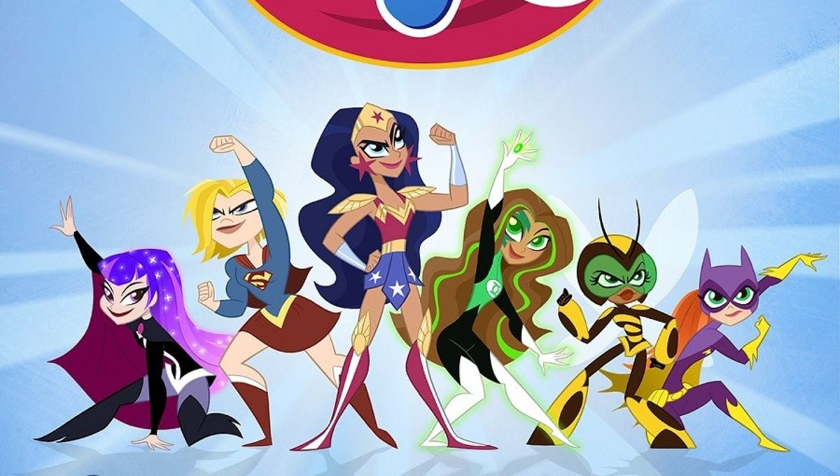 Poster shows new look for DC Super Hero Girls reboot | SYFY WIRE