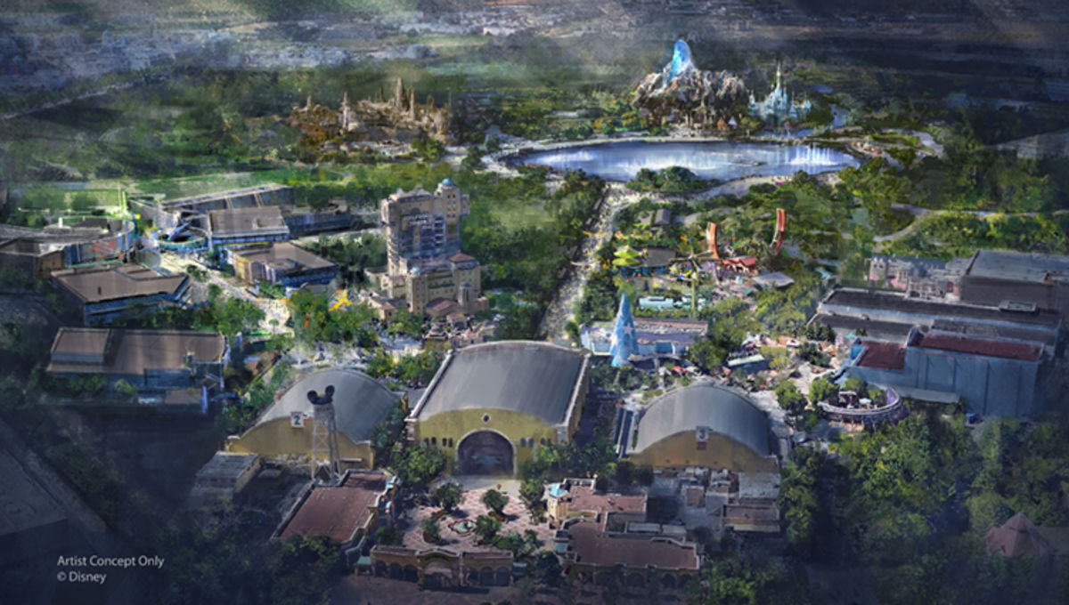 Disneyland Paris to expand with Marvel, Star Wars, and Frozen areas