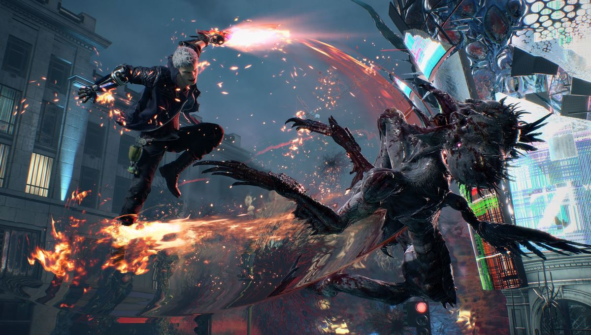 Devil May Cry 5 introduces a badass new female partner for