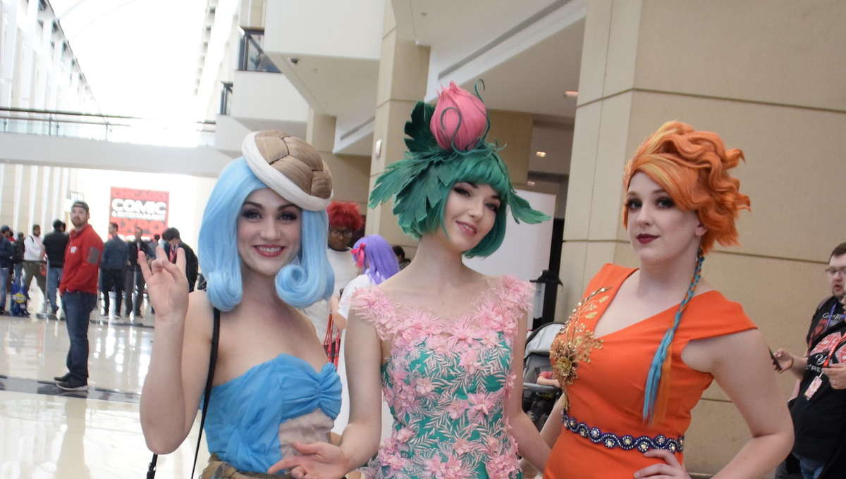 Pokémon and Spider-Verse Cosplay highlight day 1 at C2E2