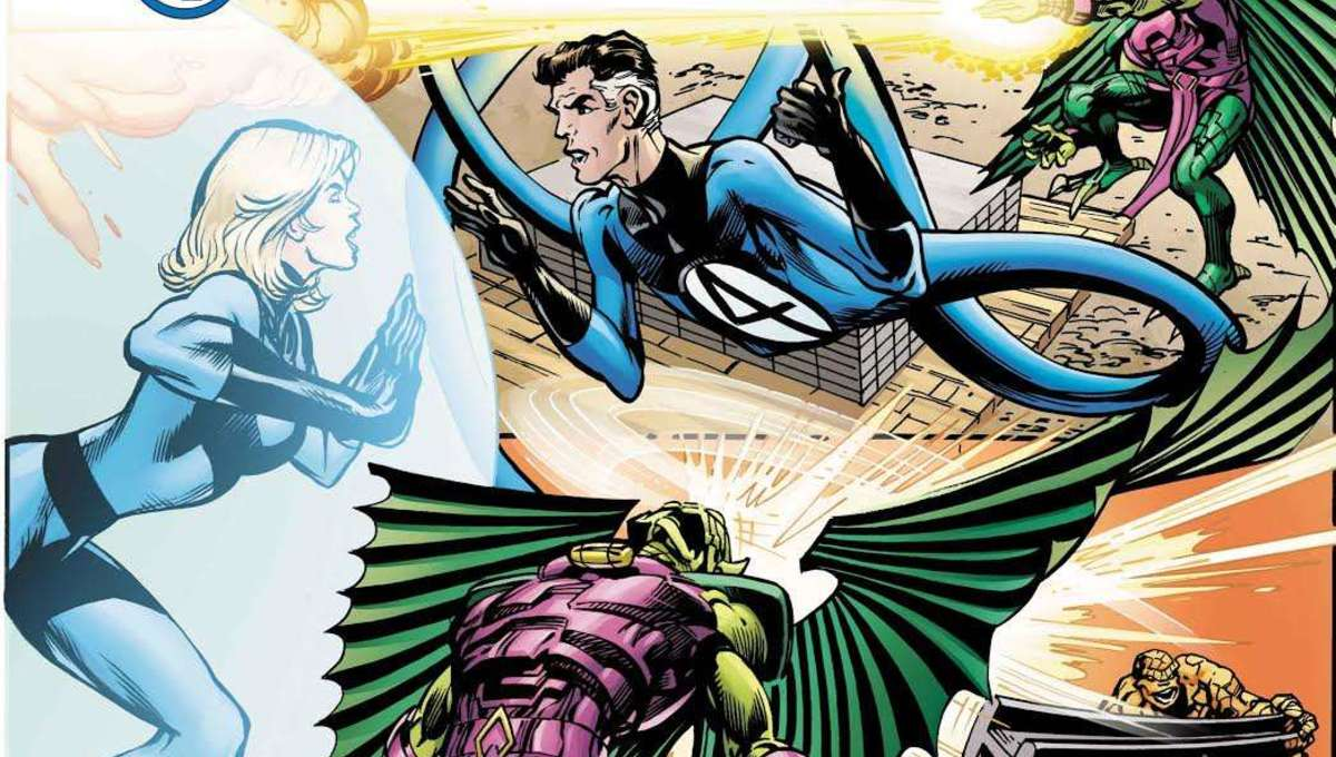 Superstar Neal Adams on finding the 'family' in new Fantastic Four event 'Antithesis '