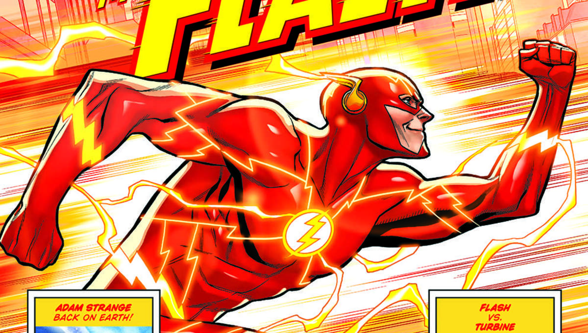 Walmart and DC Comics' 100-Page Giant line expands with Flash, Swamp Thing