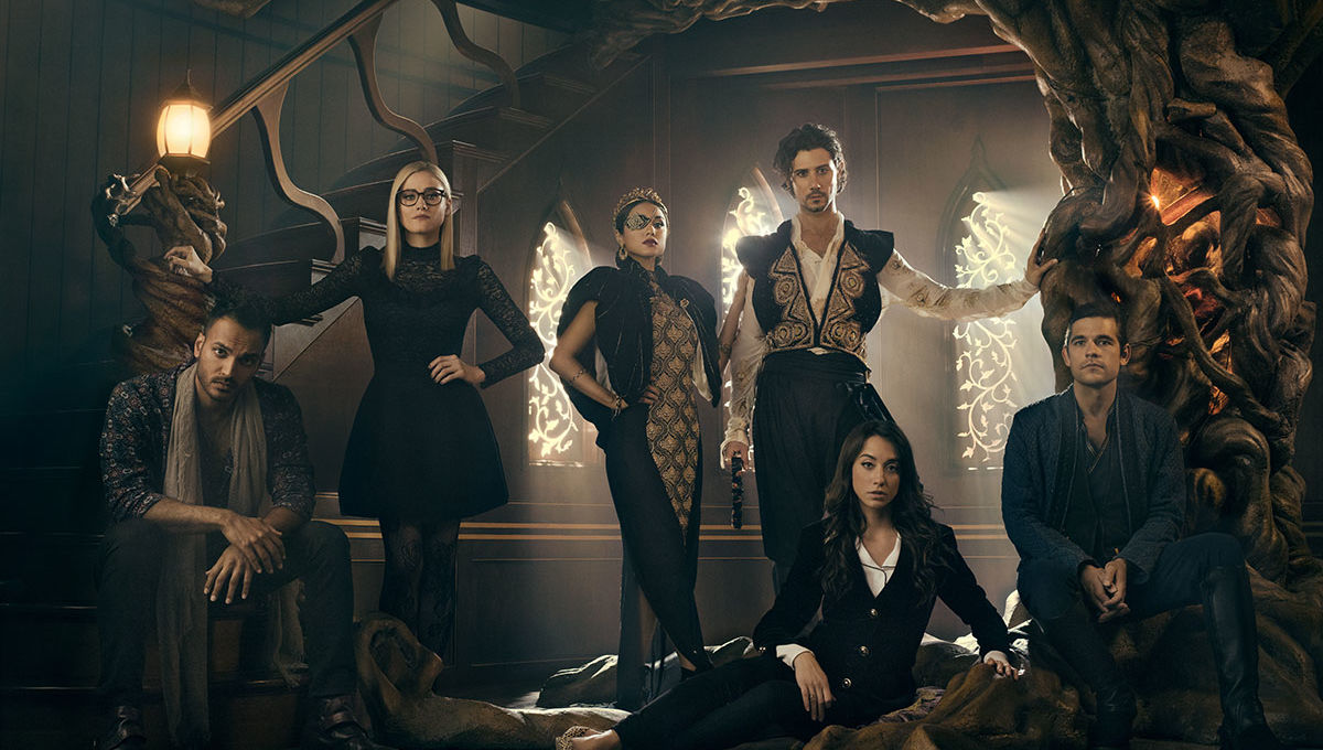 On set with The Magicians aboard the Muntjac for the Season