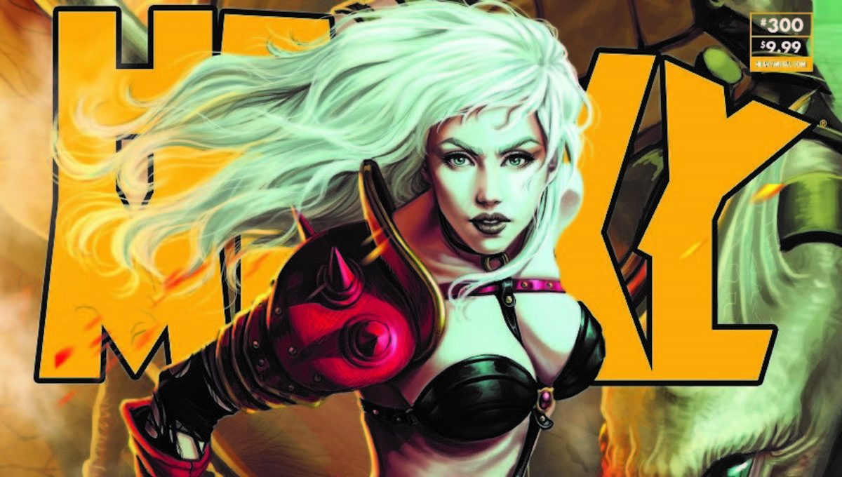 First look: Heavy Metal #300 is ready to 'melt people's brains' with landmark issue