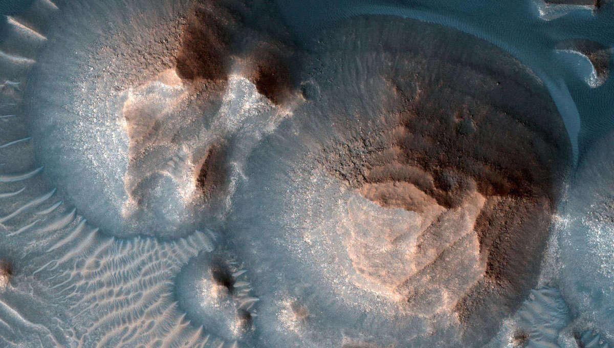 Forget Yellowstone: Thousands of immense supervolcano eruptions buried much of ancient Mars - SYFY WIRE