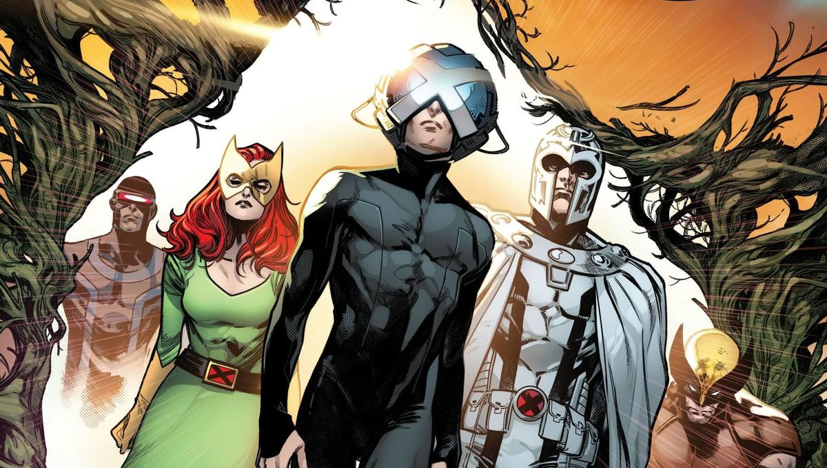 HOUSE OF X cover 1