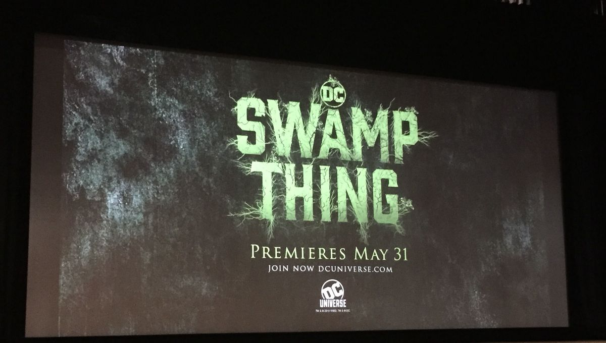 Zerchoo Science Fiction - Swamp Thing cast and crew reveal