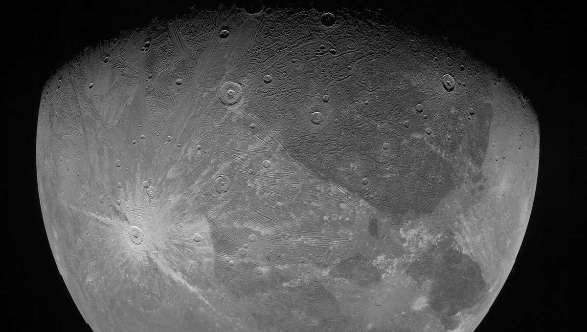 Forecast for Jupiter's moon Ganymede: Extremely cold and… humid?