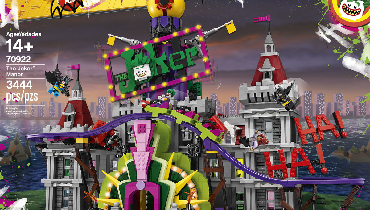 1284c1268ccf LEGO reveals The Joker Manor megaset from LEGO Batman movie. Contributed by