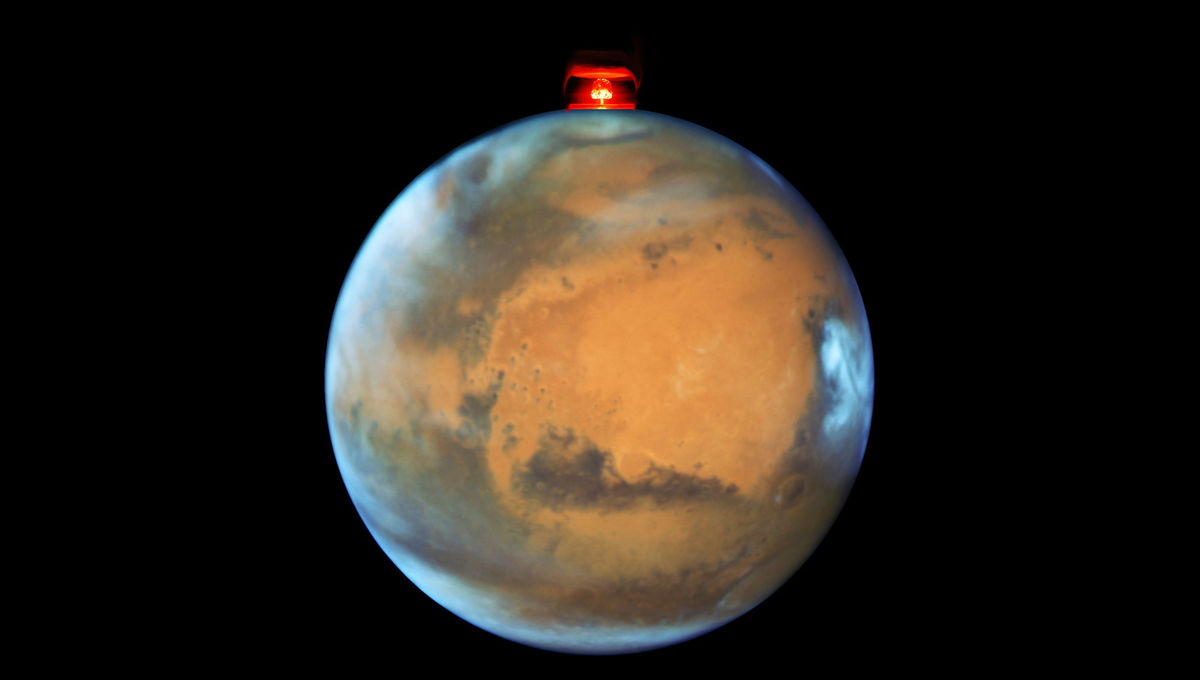 Is nuking Mars a good idea? (No)