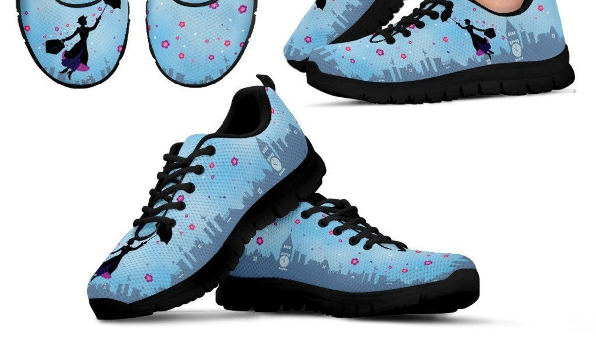 e67d6f3fd856 Main Street Bella releases limited edition Mary Poppins sneakers ...