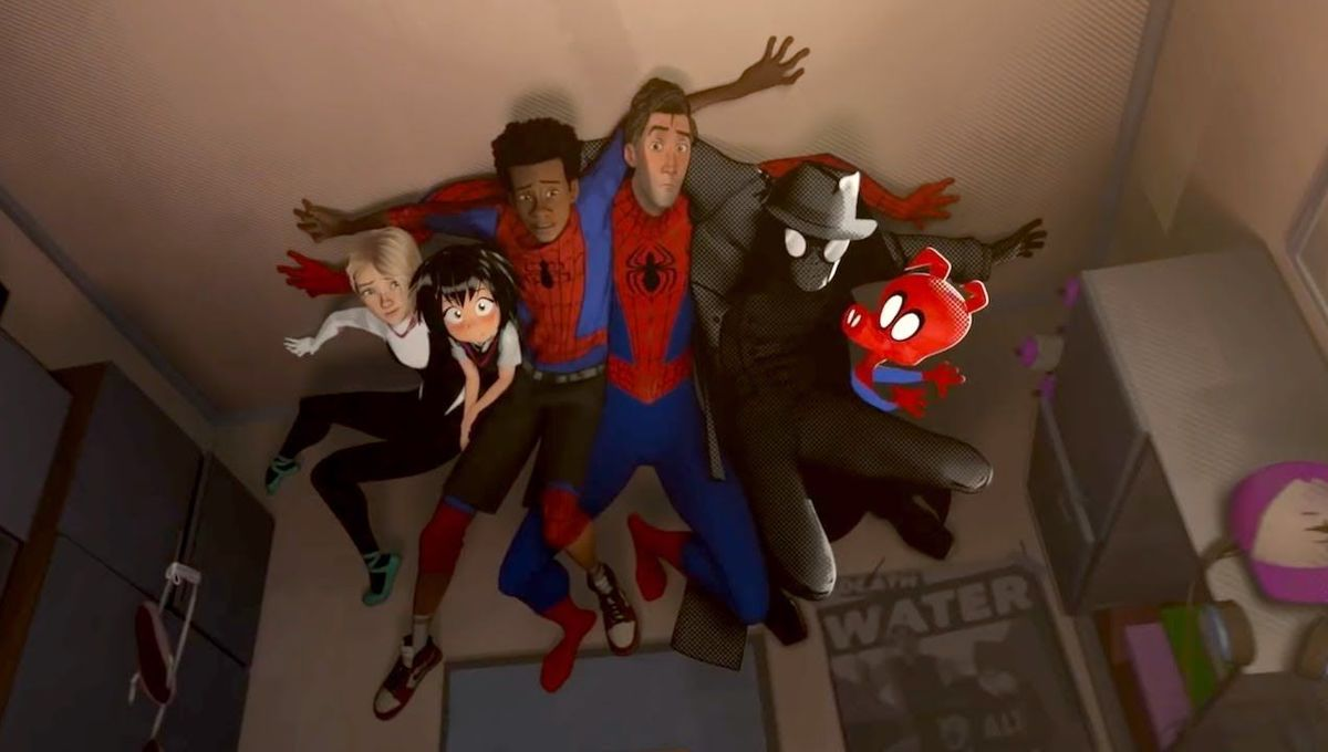 Into the Spider-Verse, The Calculating Stars, and fanfiction lead