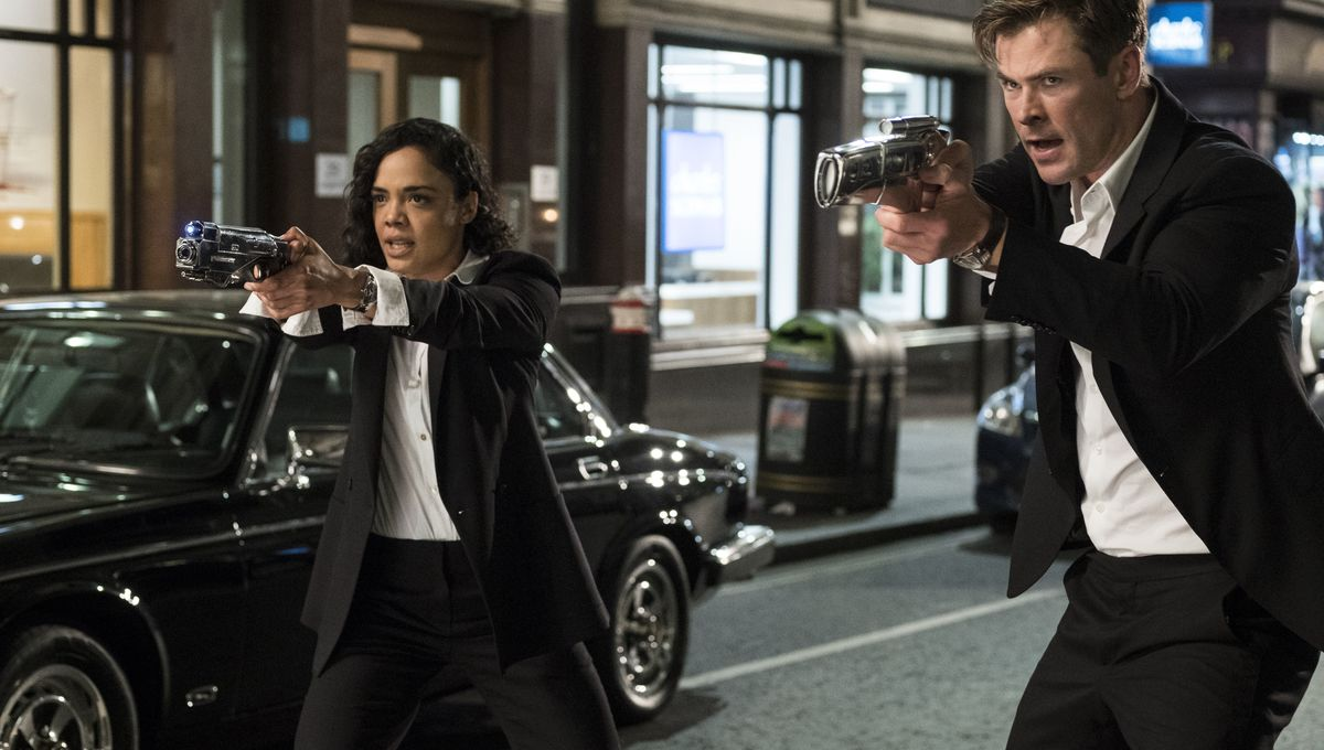 Tessa Thompson wears 4-inch heels throughout Men in Black: International - by choice