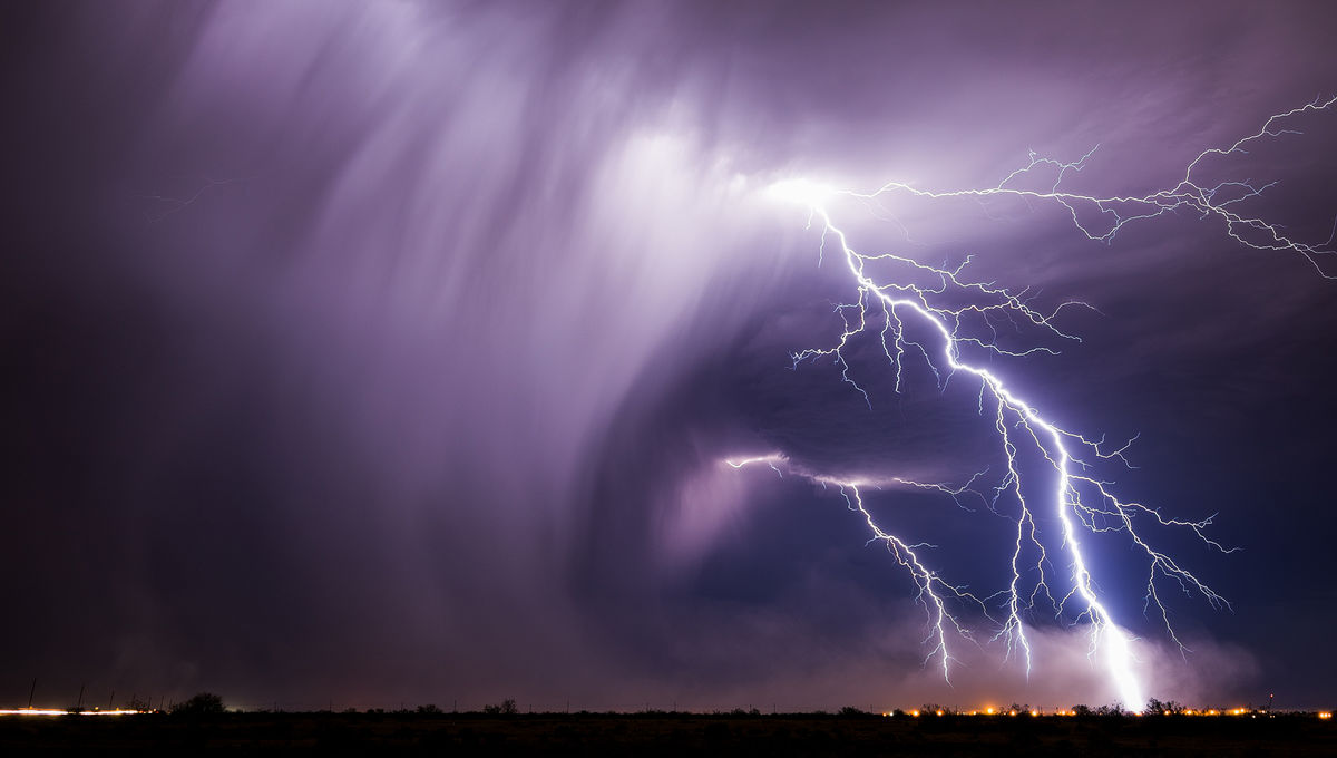 lightning from the video Monsoon IV