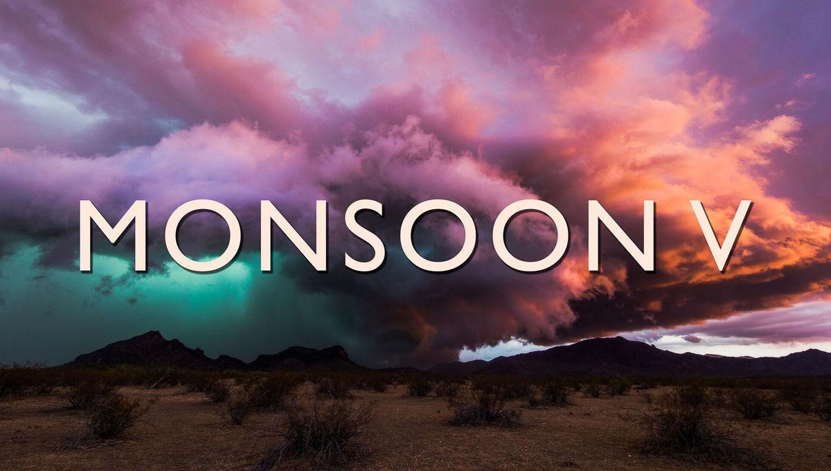 Breathtaking storm time-lapse video: Monsoon V