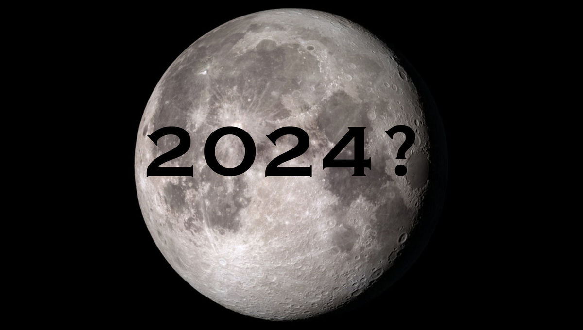 Can NASA send people back to the Moon by 2024? Credit:NASA's Scientific Visualization Studio