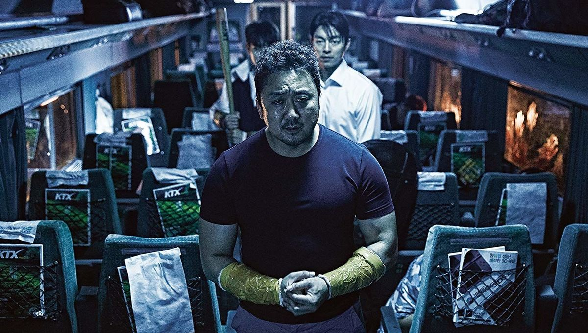 Ma Dong-seok in Train to Busan