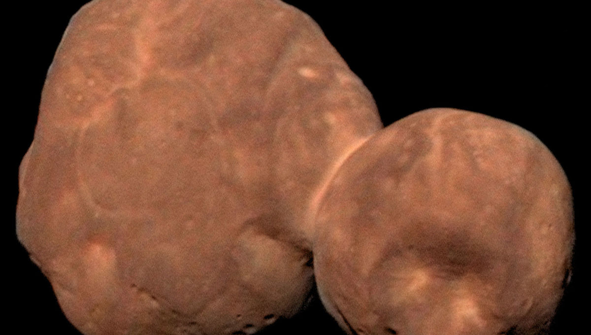 How to build a Kuiper Belt Object: Arrokoth's two halves formed separately and slowly came together