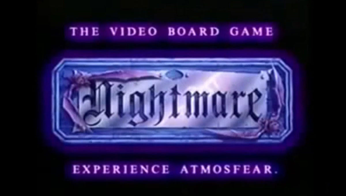 Revisiting Nightmare, the bizarre '90s VHS horror board game