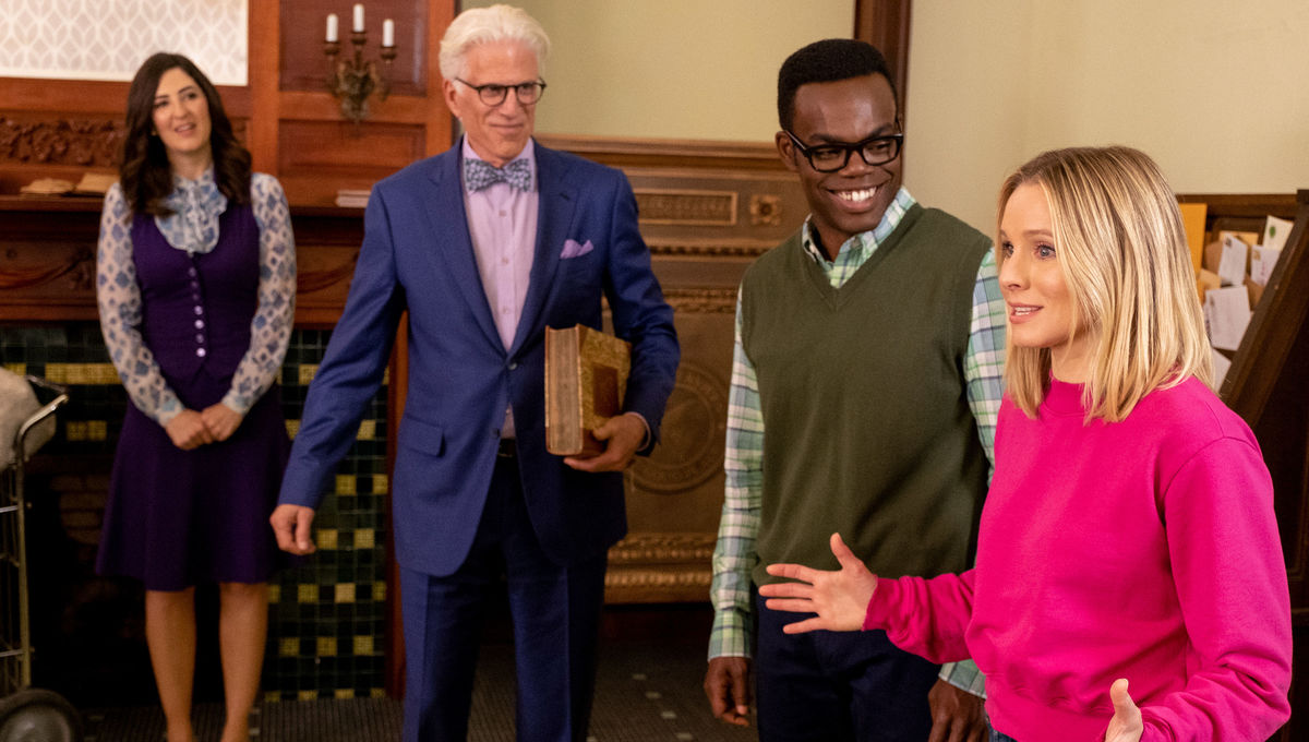 TCA 2019: The Good Place cast and Mike Schur tease the 'ending this