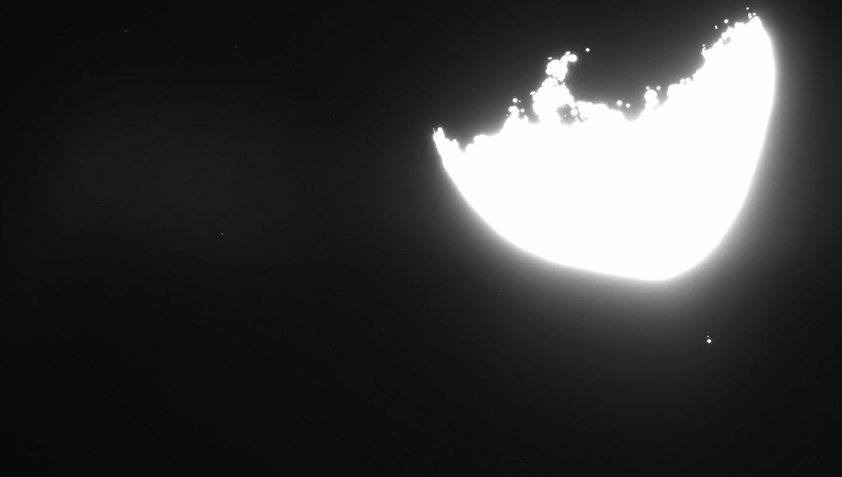 OSIRIS-REx sees Earth from 100 million kilometers away