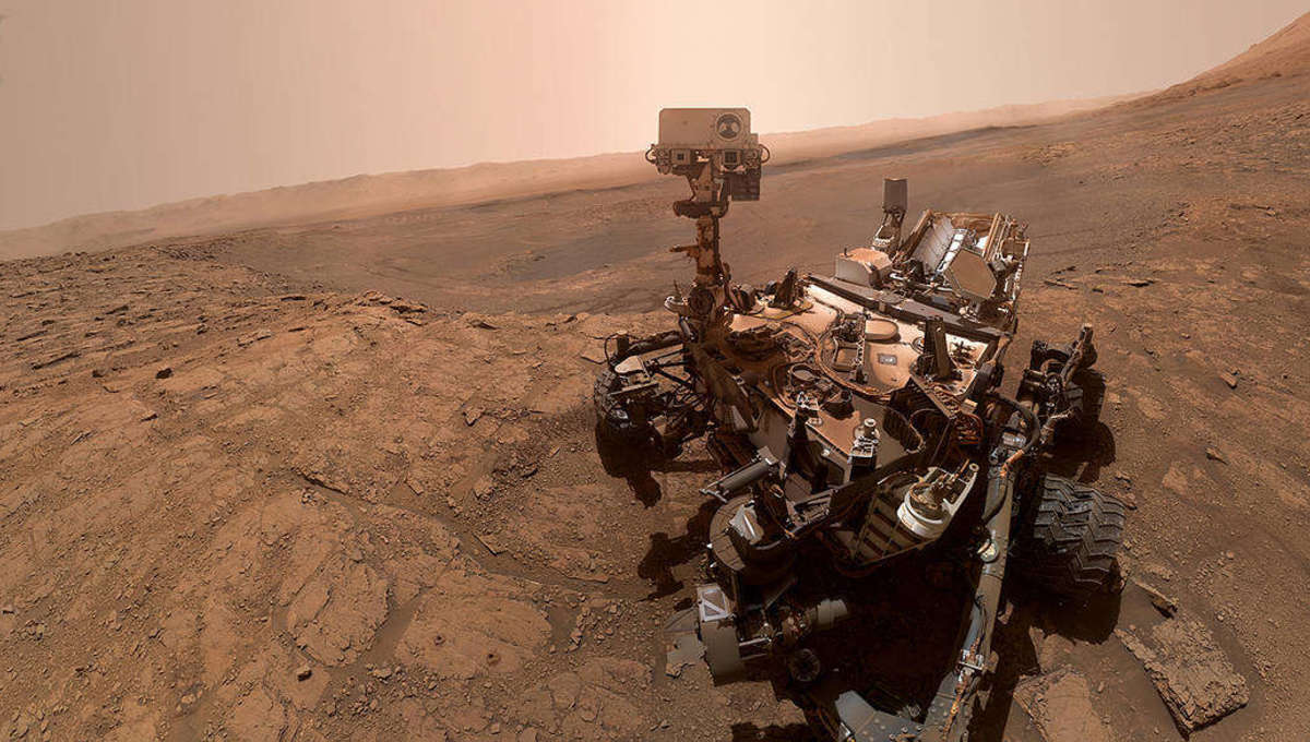 Something erased evidence of life on Mars, if there was life on Mars