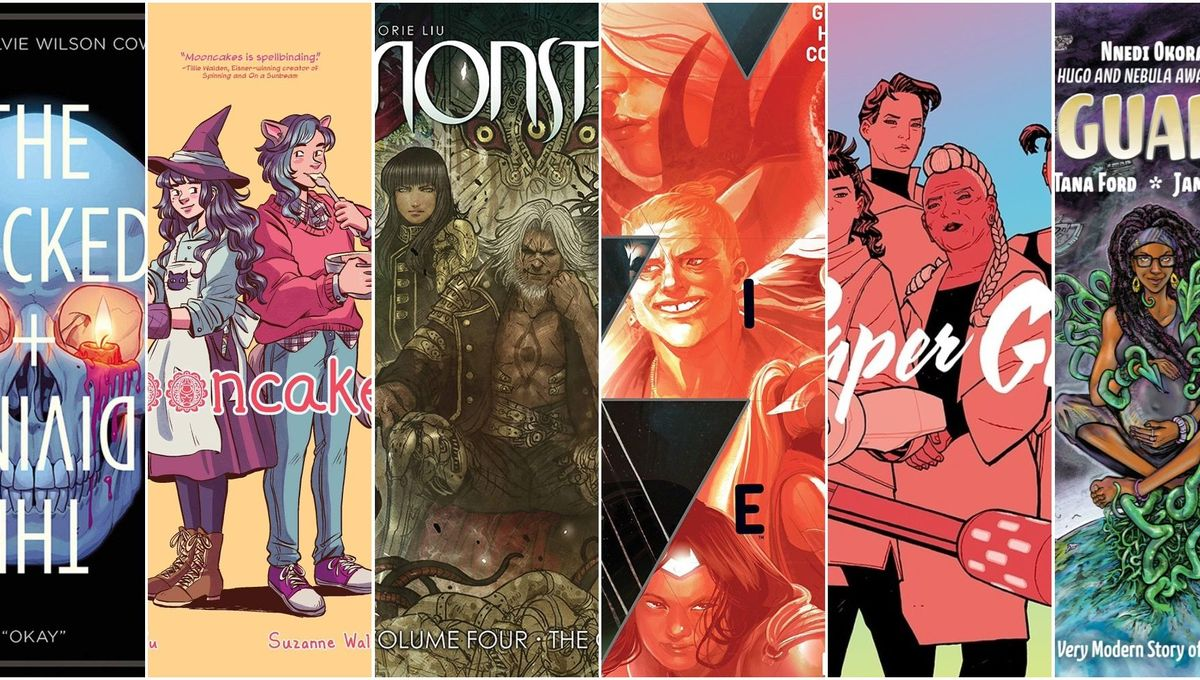 The Pull List: Comic shop database arises with new comics on hold. Also Hugo picks!