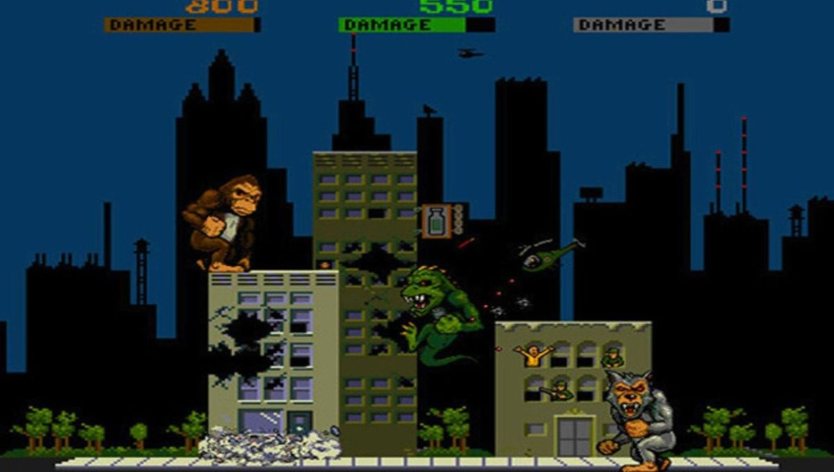 Time For A Throwback Play Rampage For Free With Your Friends Play