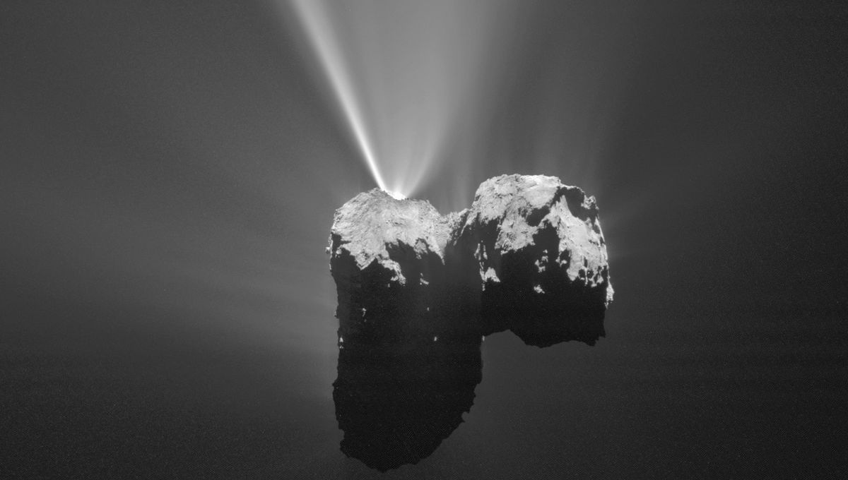 Bad Astronomy | The Rosetta image archive of its target